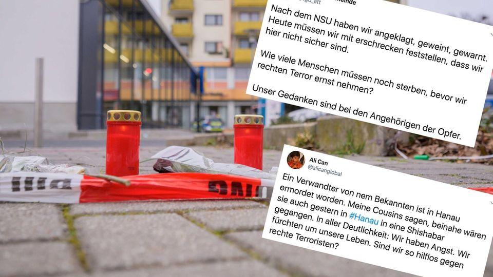 """""""Weder rechter noch linker Terror"""": Wie die AfD das Attentat von Hanau relativiert"""