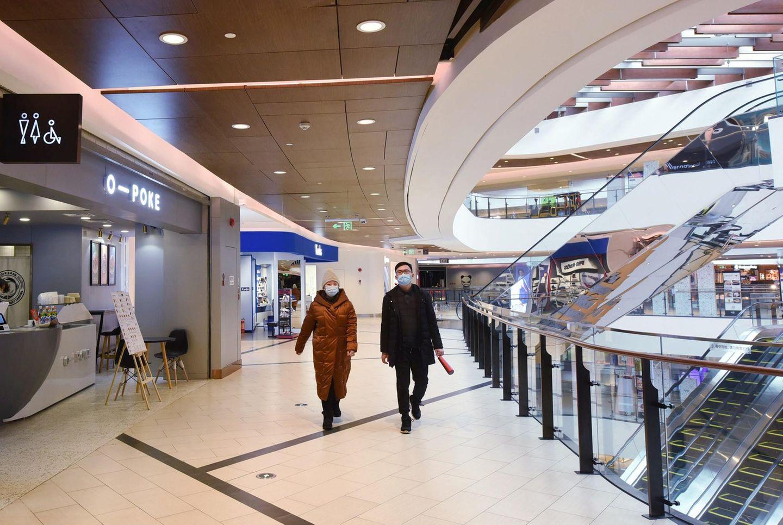 Covid-19: Nicht nur in chinesischen Einkaufszentren sind die wirtschaftlichen Aspekte des Corona-Ausburchs zu spüren.