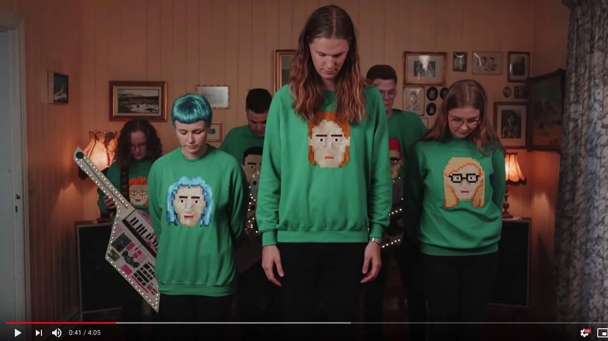 Lustiges Musikvideo: Eine Band aus Island begeistert sogar Hollywood-Stars für den ESC