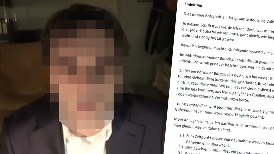 Tobias R., der mutmaßliche Täter von Hanau; Pamphleth