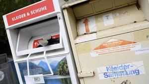 Nachrichten aus Deutschland: Altkleidercontainer