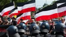 Rechtsextremisten Demo