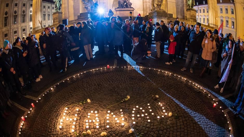 Gedenken Hanau München