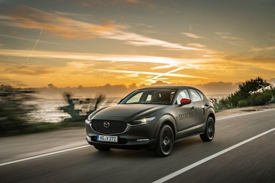 Auch der Mazda MX-30 wird in Genf präsentiert
