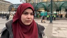 Eine junge Muslima spricht über den Anschlag in Hanau