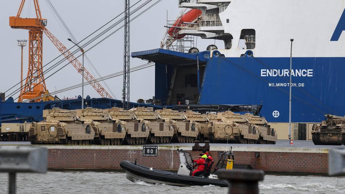 """""""Defender Europe 20"""": USA verlegen Truppen und Panzer im großen Stil nach Osteuropa"""