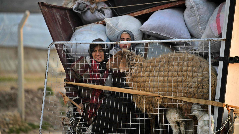Flüchtlinge in Syrien
