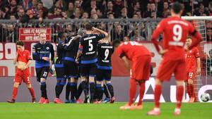 Bereits nach dem 1:0 kam Paderborn zurück in die Partie gegen Bayern und zum Ausgleich