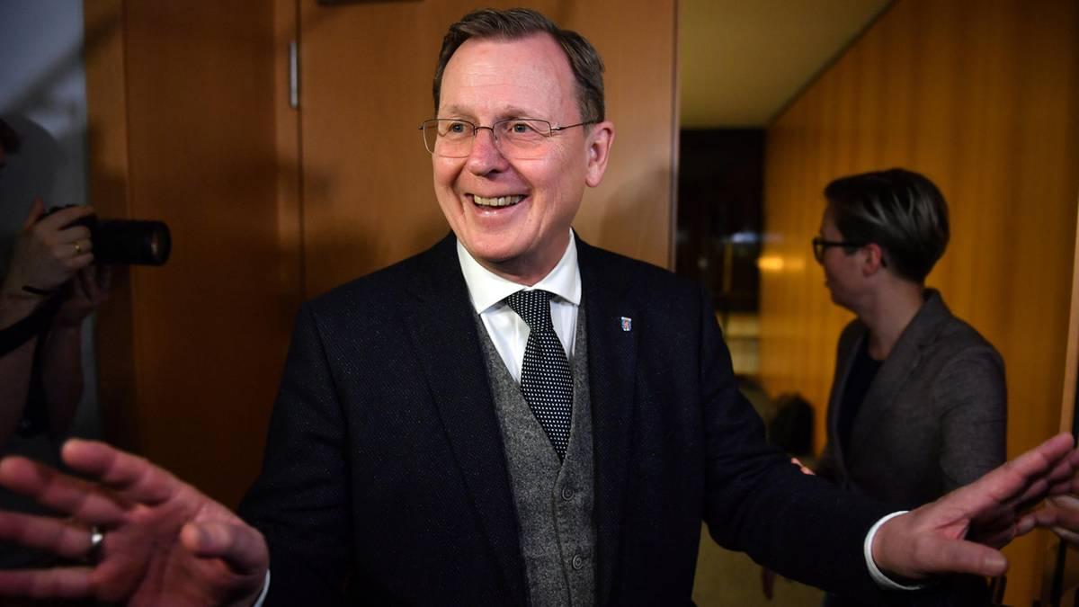"""Mit CDU-Hilfe: Ramelow soll für """"begrenzte Zeit"""" Ministerpräsident werden – Neuwahlen erst 2021"""