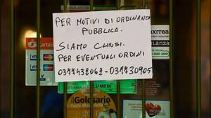 coronavirus - zweiter todesfall in italien