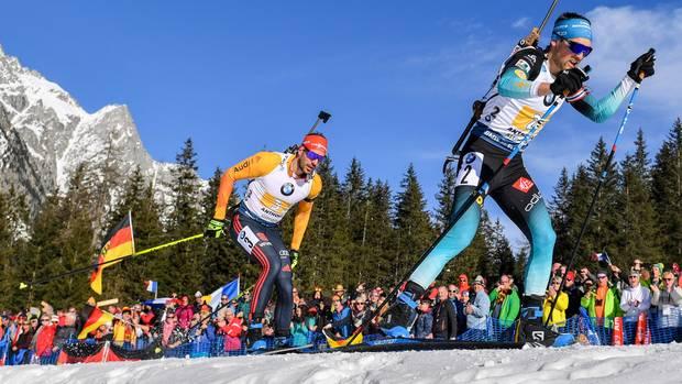 sport kompakt - herrenstaffel biathlon-wm in antholz