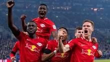 RB Leipzig schlägt Schalke auswärts mit 5:0