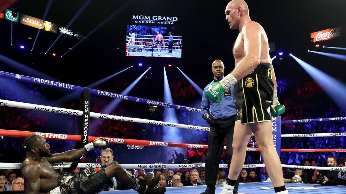 Fury holt sich den Weltmeistergürtel zurück – und verpasst Wilder die erste Niederlage überhaupt