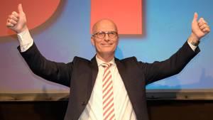 SPD-Spitzenkandidat und Erster Bürgermeister Peter Tschentscher