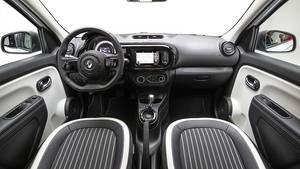 Unspektakuläres typisches Renault Cockpit