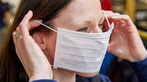 Coronavirus: Nachfrage nach Schutzmasken