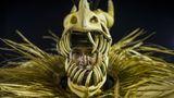 Scharfe Zähne: Hier ein Maskenträger derSambaschuleEstacio De Sa