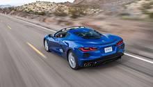 Die achte Generation des Corvette ist ein Mittelmotorsportwagen