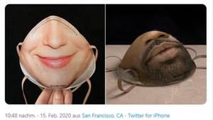 Mit der Maske soll Gesichtserkennung möglich sein