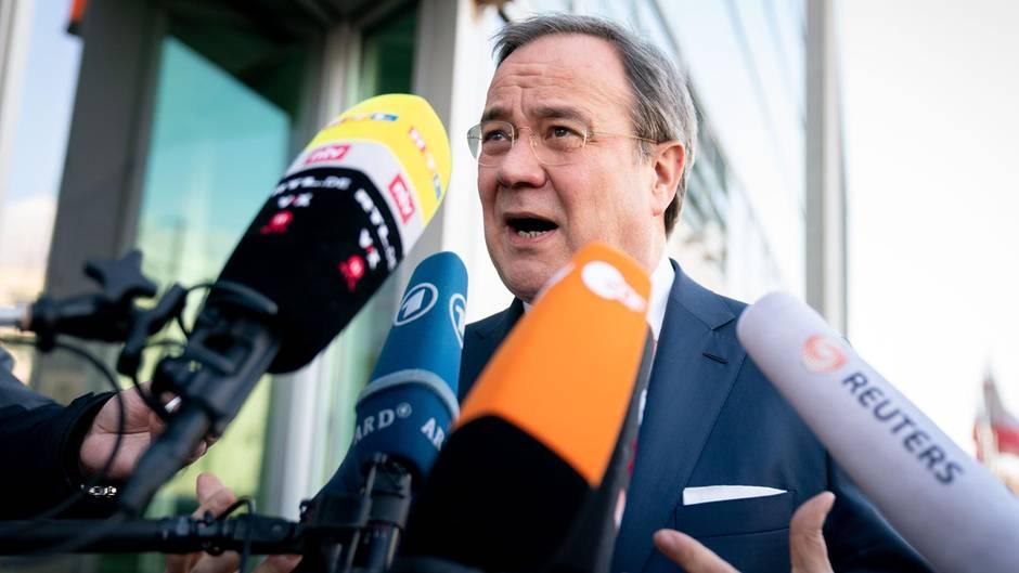 Armin Laschet, Ministerpräsident von Nordrhein-Westfalen, will für den CDU-Vorsitz kandidieren