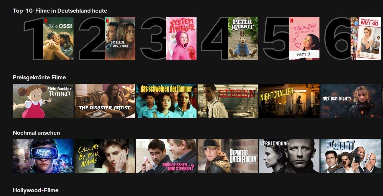 Netflix verrät jetzt, welche zehn Serien und Filme gerade