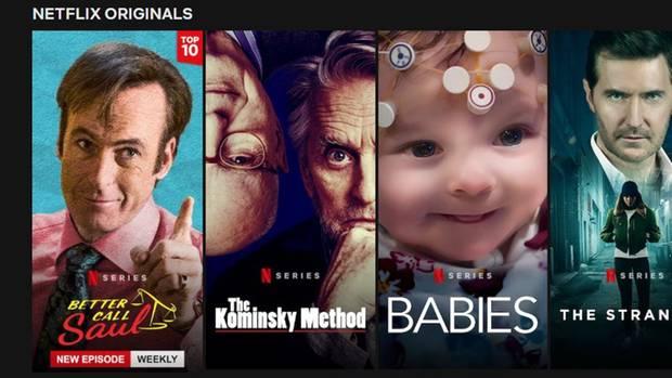 Mit einem Logo kennzeichnet Netflix die beliebtesten Inhalte