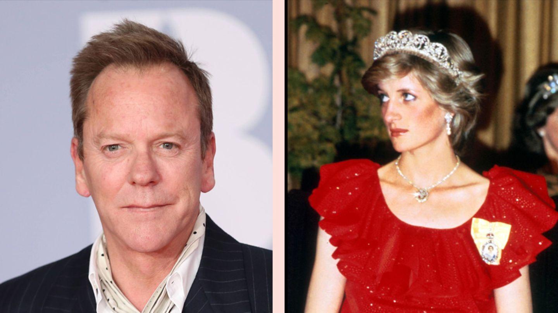 Kiefer Sutherland und Prinzessin Diana