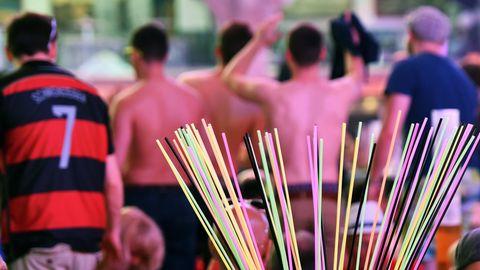 Gäste feiern in der Partylocation Megapark