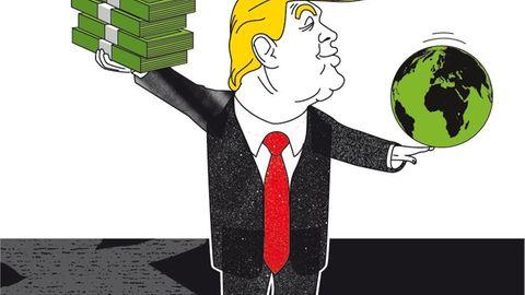 Illustration Geld Kolumne