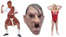 Das sind die schlimmsten Karnevalskostüme – Hitler-Maske bis Penis-Bruch