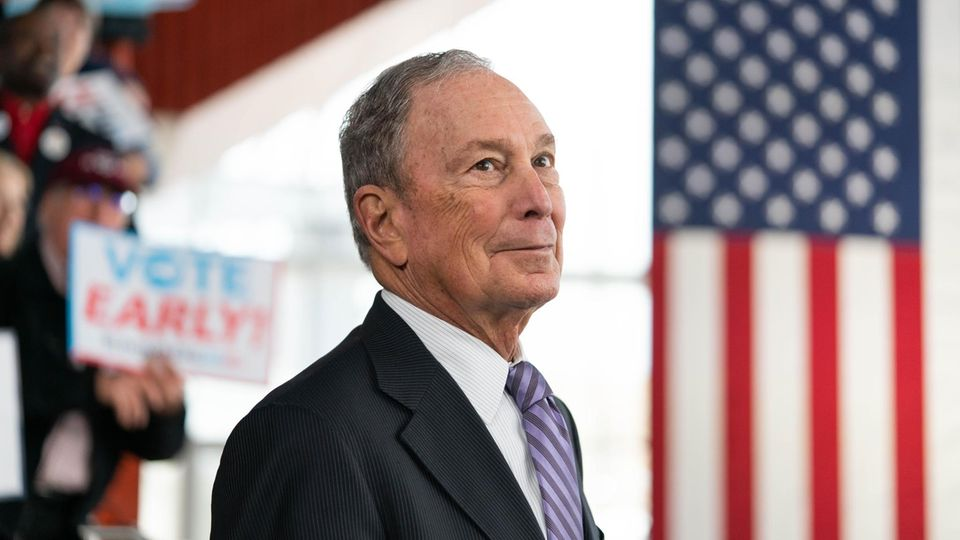 """Super Tuesday"": Die Milliarden-Dollar-Offensive: Wie Michael Bloomberg Donald Trump besiegen will"
