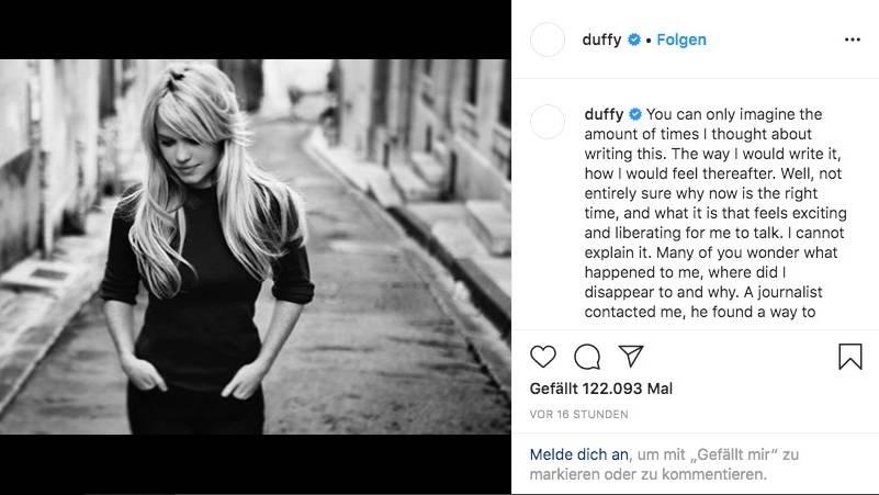 Sängerin Duffy erzählt von ihrer Vergewaltigung