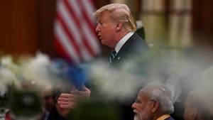 Donald Trump in Indien