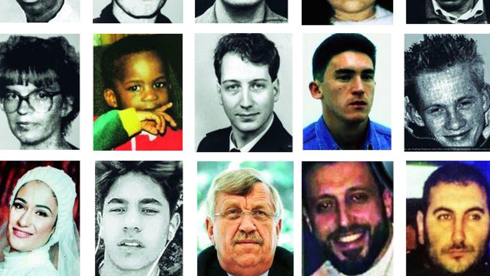 Opfer von rechtem Terror