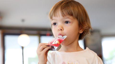 Quetschies sind praktisch, enthalten aber viel Zucker.