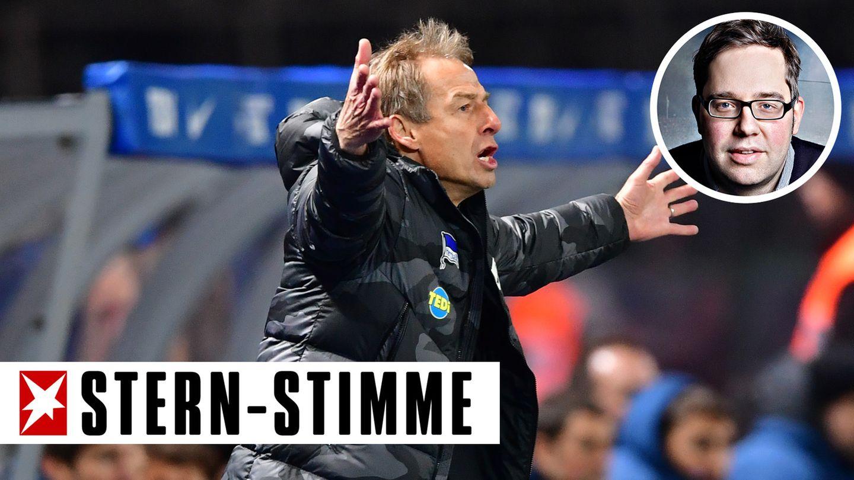 Am Ende hinterlässt Jürgen Klinsmann bei der Hertha nichts als verbrannte Erde, sagt unser Autor Philipp Köster