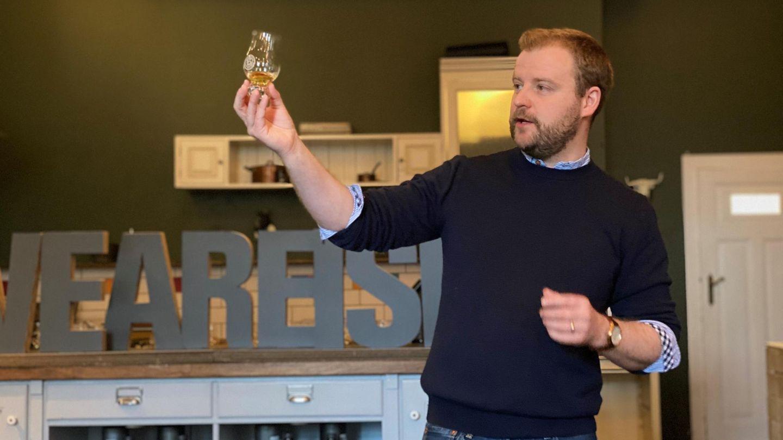 Adam Hannett, Head Distiller von Bruichladdich