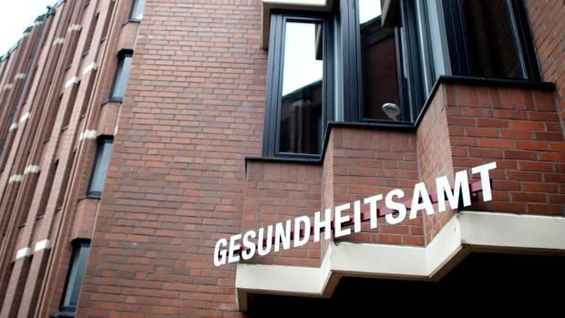 Das Gesundheitsamt in Heinsberg. Dort gab es den ersten bestätigten Fall des Coronavirus in Nordrhein-Westfalen