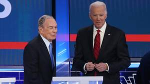 Joe Biden und Michael Bloomberg
