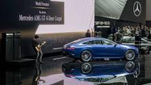 Daimler Pressekonferenz Genfer Salon 2018