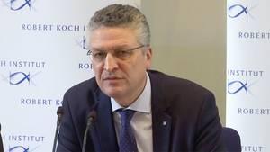Der Leiter des RKI,Prof. Dr. Lothar H. Wieler