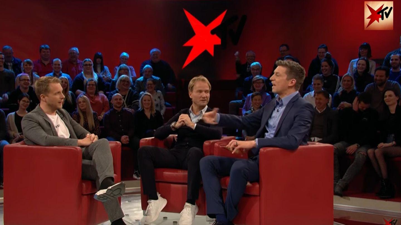"""Oliver Pocher und Wendler-Manager Markus Krampe bei """"stern TV"""""""