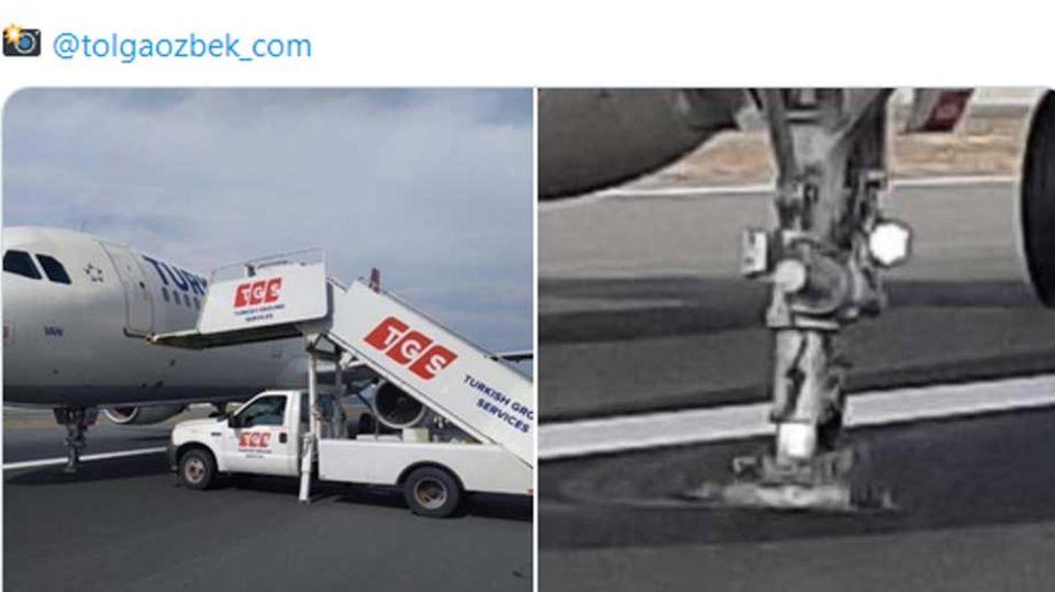 Flug Frankfurt-Istanbul: Jet von Turkish Airlines verliert Fahrwerk bei der Landung