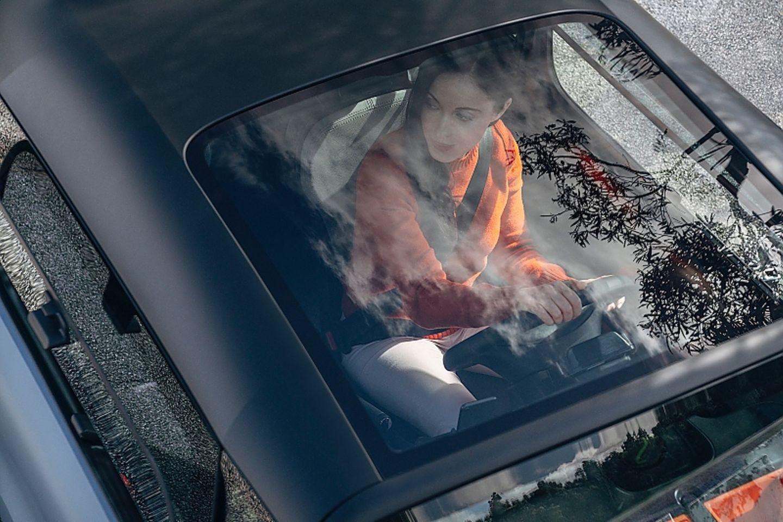 Das Panoramadach des Citroen Ami ist Serie