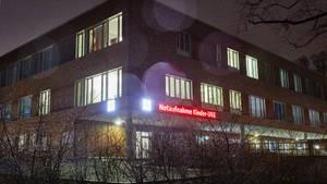 Die Notaufnahme der Kinderklinik am Hamburger UKE. Hier arbeitetder infizierte Mitarbeiter