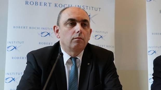 Der Vizepräsident des Robert-Koch-Instituts, Prof. Dr. Lars Schaade