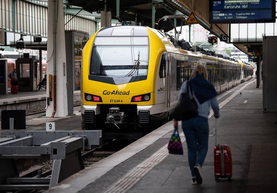 Zug von Geo-Ahead im Stuttgarter Hauptbahnhof: Beim neuen Betreiber der Remsbahn gibt es Probleme und Verspätungen