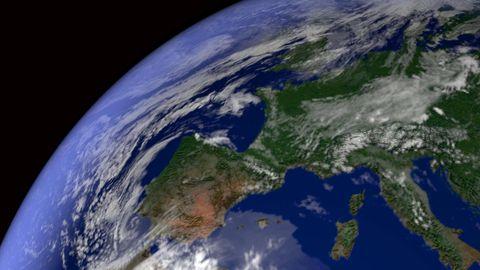 Erde Weltall