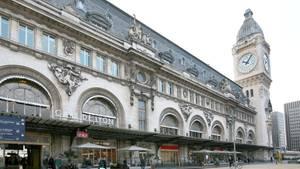 Der Pariser Bahnhof Gare de Lyon