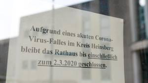 Auch das Rathaus in Gangelt bleibt vorerst geschlossen